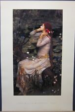 Ophelia - John William Waterhouse - Open Edition Print
