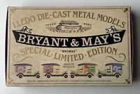 Lledo Van Set BRYANT & MAY'S Special Limited Edition of 12,500