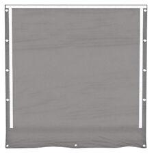 Partyzelt Seitenwand mit Fenster grau Ersatz PVC 3x4- 8x12 Seitenteil Pavillon