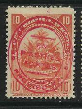 HAITI, 1906, 10 Cent Provisional Definitive, Sg 127, Mounted Mint.