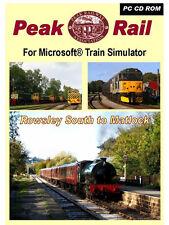 Peak RAIL Addon Pack per MICROSOFT TRAIN SIMULATOR * NUOVO Basso Prezzo *