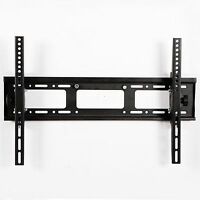 "22""-80"" TV Wall Mount Bracket LCD LED Plasma Flat Tilt Dual Arm Slim Black"