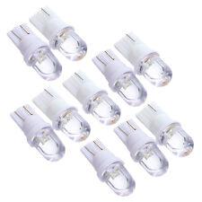 Lot 10 Voiture Ampoule Lampe Veilleuses LED W5W T10 effet Xenon Blanc 12v P1H4