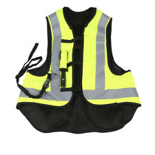 Yellow Motorbike Air Bag Airnest Airbag Vest Hi Visibility Size L