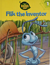 "Disney-Pixar    ""A BUGS LIFE""  Volume 1 Flik the Inventor  Hardcover ""BRAND NEW"""