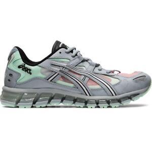 ASICS 1021A196 020 Gel Kayano 5 360 Piedmont Grey Mint Tint Men's Running Shoes