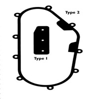 Chaincase Cover Seal~1992 Yamaha EX570 Exciter II Sports Parts Inc. 03-160-07