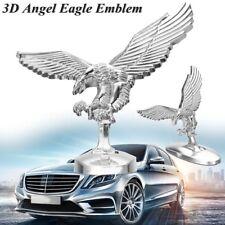 Metal 3D Emblem Angle Eagle Car Front Cover Chrome Hood Ornament Badge Bonnet