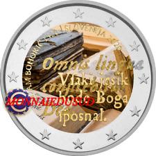 2 Euro Commémorative Slovénie 2020 en Couleur Type A - Adam Bohoric