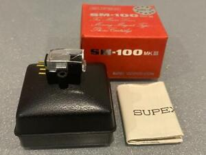 Supex SM-100 MK.III Moving Magnet MM Cartridge Working Tested BOXED/Papers