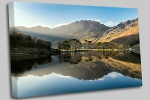 Buttermere Lake District Canvas Wall Art Picture Print