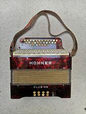 Hohner Knopfakkordeon Club III B mit Koffer