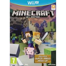 Wii U Sealed - Minecraft Includes Super Mario Mash-Up Game - UK