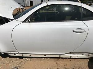 02-10 LEXUS SC430 DOOR LEFT DRIVER SIDE WHITE OEM