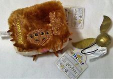 BNWT BAB build a bear Harry Potter Book Of Monsters golden finch toy plush new