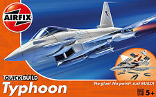 Airfix QUICK BUILD Eurofighter Typhoon  Plastic Model Kit J6002