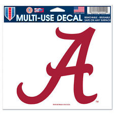 "Alabama Crimson Tide 5""x6"" 5x6 Ultra Decal Window Laptap Car Truck Multi Use"