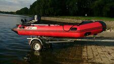 Otter-Sport Motorboot MAS - 380 mit Mercury Force 25PS Motor inkl. Trailer
