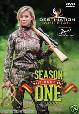 Destination Whitetail Best of Season 1 Deer Hunting DVD Lauren Rich, Ted Nugent