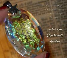 Elfen Amulett Kristall Talisman Regenbogen Fee Fairy Fantasy Naturmagie Stern