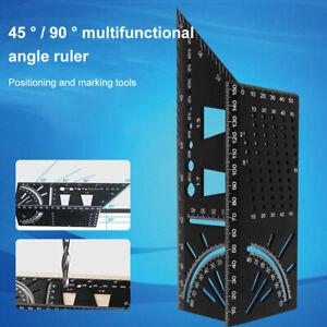 Gehrungswinkel Werkzeug Messquadrat Größenmesswerkzeug Messlineal Lineal Tool