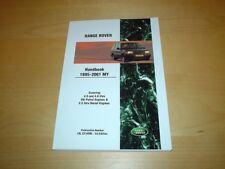 Vdc000010enx Stati Uniti Range Rover p38 Proprietari Manuale Servizio Portafoglio Wallet