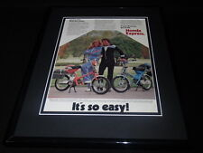 1979 Honda Express 11x14 Framed ORIGINAL Vintage Advertisement