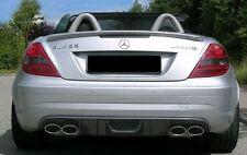 Mercedes R171 SLK55 AMG Rear Bumper Diffuser Insert