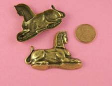 LARGE ANT BRASS EGYPTIAN SPHINX FINDING - 1 PC(s)