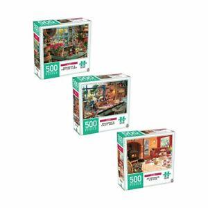 500 Piece Home Puzzle Set - Assorted Kids Toys Activity Games Home Decor 2020 LF