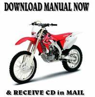 2005 Genuine Honda CRF450X Service Shop Repair Manual 61MEY00 OEM