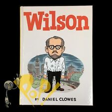 WILSON Hardcover HC with Rare PROMO POSTER Daniel CLOWES 1st Edition D&Q 2010 NM