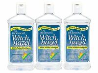 Dickinson's Witch Hazel 100 % Natural Astringent Face & Body 16 fl oz, 3 PACK