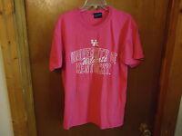 "MV Sport Size Large University Of Kentucky Wildcats Pink T-Shirt "" GREAT SHIRT """
