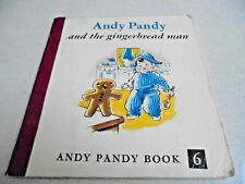 Andy Pandy and the Gingerbread Man Andy Pandy Book 6 Red binding Vintage Book