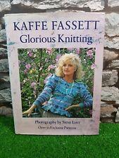 Kaffe Fassett Glorious Knitting Book. 30 exclusive Patterns.Ladies.Mens.Children