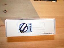 Vintage Macintosh 4 Port Serial Port Switch for Printer Modem Scanner Apple Mac