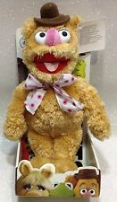 "THE MUPPETS FOZZY BEAR PELUCHE 30 CM SOFT PLUSH 12"" DISNEY GIFT BOX"