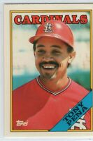 1988 Topps Tiffany Baseball Saint Louis Cardinals Team Set