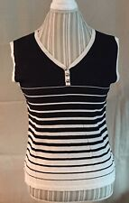 Ladies Sleeveless Knit Top size XL by LouLou