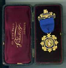 More details for rational association gilt medal plus box of issue to mr. a. paul - early medal