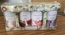 Set Of Four 50g Assorted Floral Collection Talcum Powder Gift Set (D3)