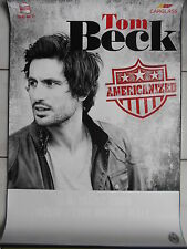 TOM BECK 2013  -  orig.Concert-Konzert-Poster-Plakat DIN A1