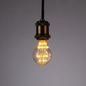 A19 E27 LED Light Bulb Starry Decor 2200K 3W Vintage Edison Design Light Bulb