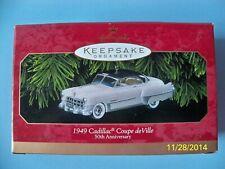 Hallmark Ornament 1949 Cadillac Coupe de Ville Classic American Cars 1999