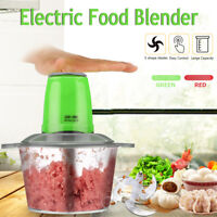 220V 2L Electric Food Chopper Meat Grinder Blender Household Processor Machine