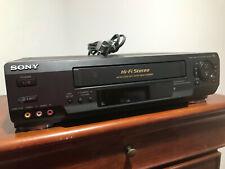Sony SLV-N50 VHS VCR Video Cassette Player Recorder HIFI Stereo - NO REMOTE