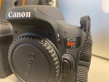 Canon EOS Rebel T6I 24.2 MP Digital SLR Camera - With accessories