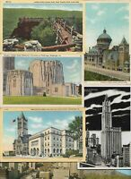 USA Georgia, West Virginia and more Postcard Lot of 30 with RPPC 01.02