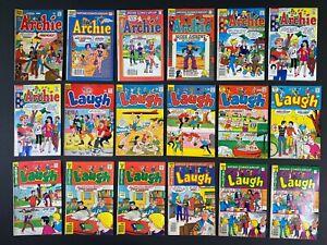 Lot of (18) Archie & Laugh (1966-91) Archie Comics MoreListed